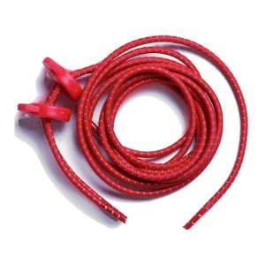 Fitness Mania - Zone3 Elastic Running/Triathlon Shoe Laces - Red