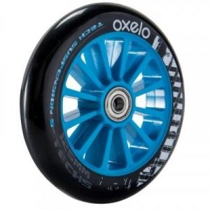 Fitness Mania - 1 x 125 mm Scooter Wheel with Bearings - Blue