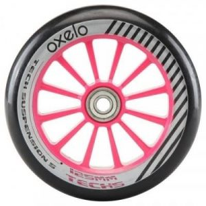 Fitness Mania - 1 x 125 mm Scooter Wheel with Bearings - Pink