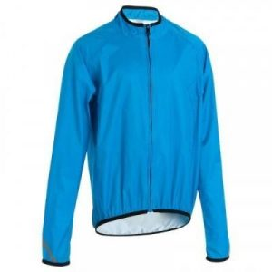 Fitness Mania - 300 Kids' Cycling Waterproof - Blue