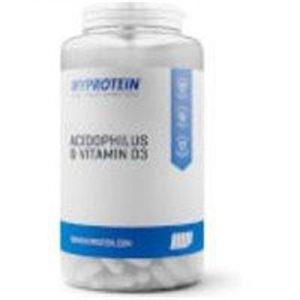 Fitness Mania - Acidophilus & Vitamin D3 - 30tablets