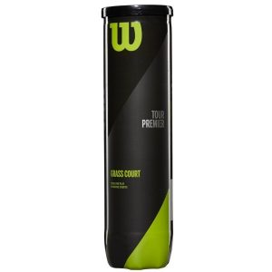 Fitness Mania - Wilson Tour Premier Grass Court Tennis Balls - Can of 4