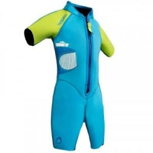 Fitness Mania - 100 Children's Snorkelling Shorty - Blue Green