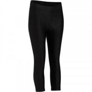 Fitness Mania - Womens MTB Cycling Crop Bottoms - ST 100 - Black