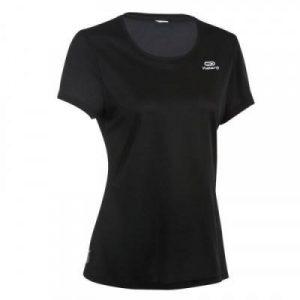 Fitness Mania - Womens Running T-Shirt - Run Dry - Black