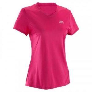 Fitness Mania - Womens Running T-Shirt - Run Dry - Pink
