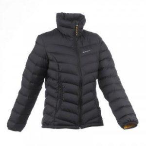 Fitness Mania - Women's Trekking/Hiking Full Down Quilted Jacket X-Warm - Black