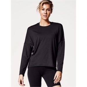 Fitness Mania - Running Bare Ritual Long Sleeve Workout Tee
