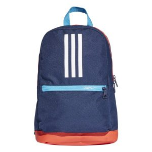 Fitness Mania - Adidas 3-Stripes Kids Training Backpack Bag - Collegiate Navy/Active Red/White