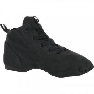 Fitness Mania - High Top Canvas Modern Dance Shoes Black