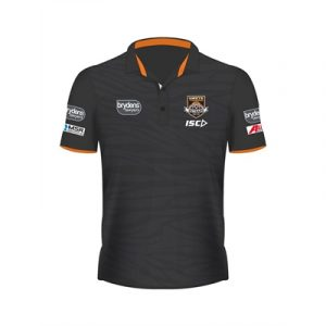 Fitness Mania - Wests Tigers Sublimated Polo 2019