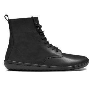 Fitness Mania - Vivobarefoot Gobi HI 2.0 Leather - Womens Casual Shoes - Black