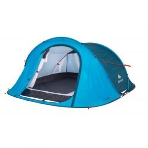Fitness Mania - 2 Seconds Easy 3 Pop Up Tent _PIPE_ 3 Person - Blue