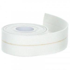 Fitness Mania - 3 cm x 2.5 m Elastic Support Strap - White