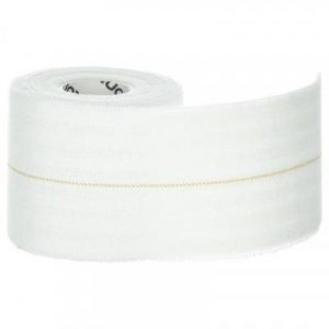 Fitness Mania - 6 cm x 2.5 m Elastic Support Strap - White