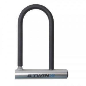 Fitness Mania - Bike U-Lock - (16.5 cm) - Grey
