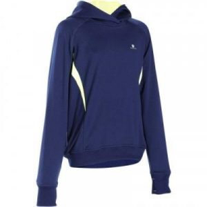Fitness Mania - Boys' Energy Hooded Fitness Sweatshirt Navy Blue