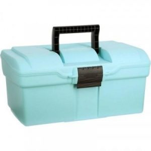 Fitness Mania - GB300 Horse Riding Grooming Case - Sky Blue/Brown