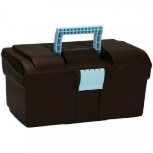 Fitness Mania - GB500 Horse Riding Grooming Case - Brown/Sky Blue