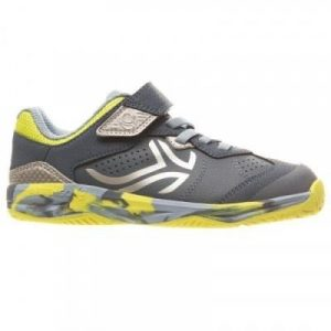 Fitness Mania - TS160 Kids' Tennis Shoes - Camo Yellow