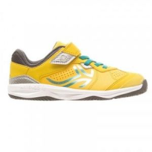 Fitness Mania - TS160 Kids' Tennis Shoes - Yellow