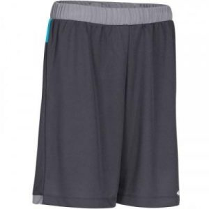 Fitness Mania - Womens Basketball Shorts B500 - Gray and Turquoise
