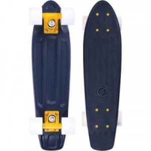 Fitness Mania - Yamba Cruiser Skateboard_PIPE_Petroleum Black