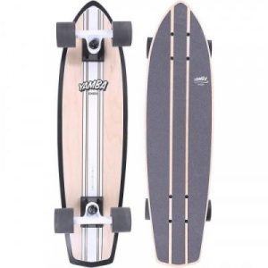 Fitness Mania - Yamba Wood Cruiser - Classic _PIPE_ White