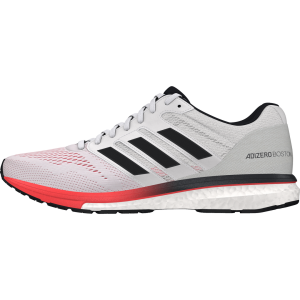 Fitness Mania - Adidas Adizero Boston 7 - Mens Running Shoes - Footwear White/Carbon/Red