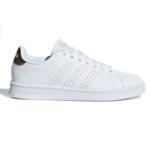 Fitness Mania - Adidas Advantage Clean - Womens Sneakers - White/Copper