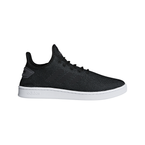Fitness Mania - Adidas Court Adapt - Mens Sneakers - Core Black/Grey Six/White