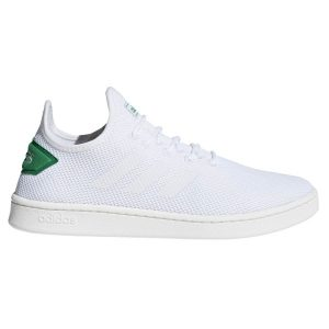 Fitness Mania - Adidas Court Adapt - Mens Sneakers - Footwear White/Green