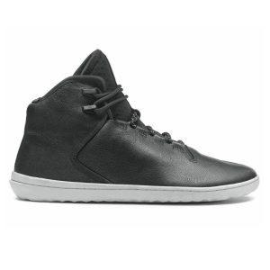 Fitness Mania - Vivobarefoot Borough - Mens Leather Boots - Black
