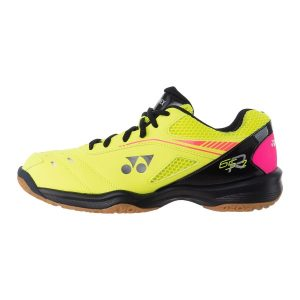 Fitness Mania - Yonex Power Cushion 65R2 Mens Indoor Court Shoes - Bright Yellow