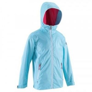 Fitness Mania - 100 Kids' Waterproof Sailing Oilskin - Light Blue