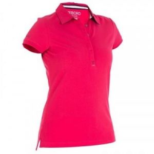 Fitness Mania - 100 Women's Sailing Polo Shirt - Pink