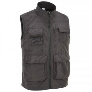 Fitness Mania - Travel 100 Men's Gilet - Dark Grey