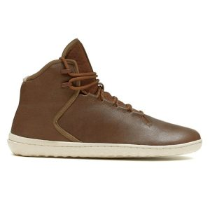 Fitness Mania - Vivobarefoot Borough - Mens Leather Boots - Brown