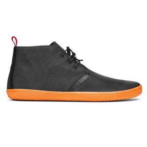 Fitness Mania - Vivobarefoot Gobi II Canvas SwimRun - Mens Boots - Black/Orange