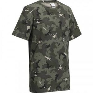 Fitness Mania - 100 Junior Hunting T-Shirt - Island Camouflage