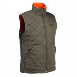 Fitness Mania - 100 Padded Hunting Gilet Green