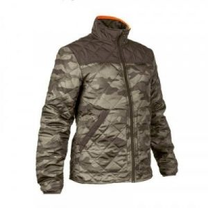 Fitness Mania - 100 Padded Hunting Jacket Camouflage Green
