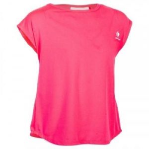 Fitness Mania - 500 Girls' T-Shirt - Pink