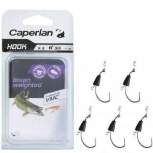 Fitness Mania - 'TEXAN WEIGHTED FISHING HOOK 3/0