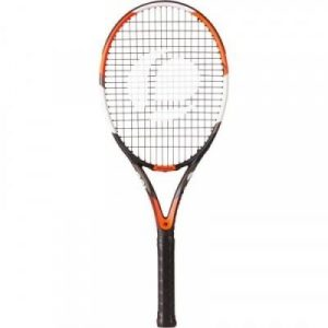 Fitness Mania - TR190 Power Adult Tennis Racket - Orange/Black