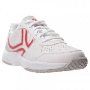 Fitness Mania - TS160 Women's Tennis Shoes - White/Pink