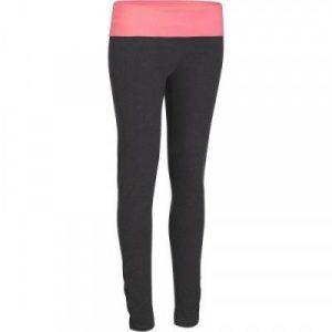 Fitness Mania - Women's Yoga Leggings Organic Cotton Grey and Coral