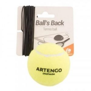 Fitness Mania - _QUOTE_Ball is Back_QUOTE_ Tennis Trainer Ball and Elastic