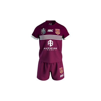 Fitness Mania – QLD State of Origin Toddler Home Jersey 2019