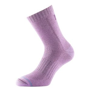 Fitness Mania - 1000 Mile All Terrain Womens Trail Running/Hiking Socks - Raspberry